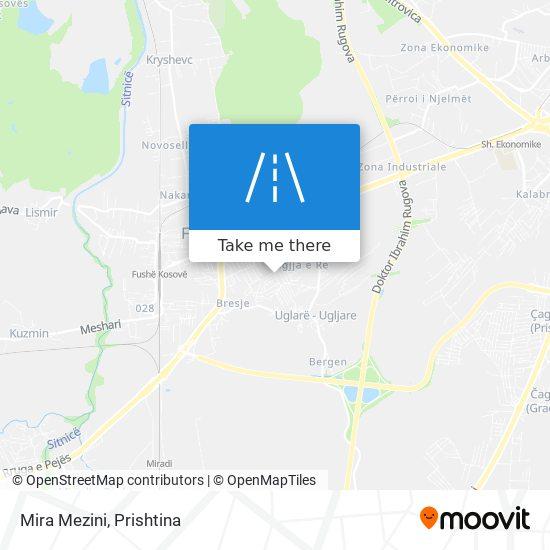 Mira Mezini map