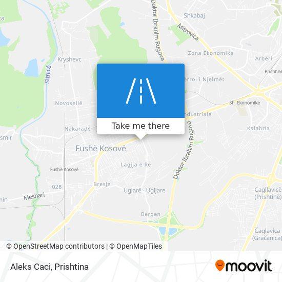 Aleks Caci map
