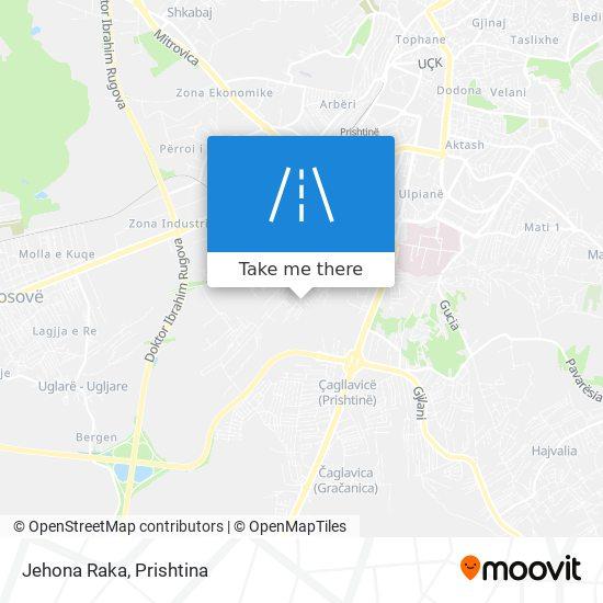 Jehona Raka map