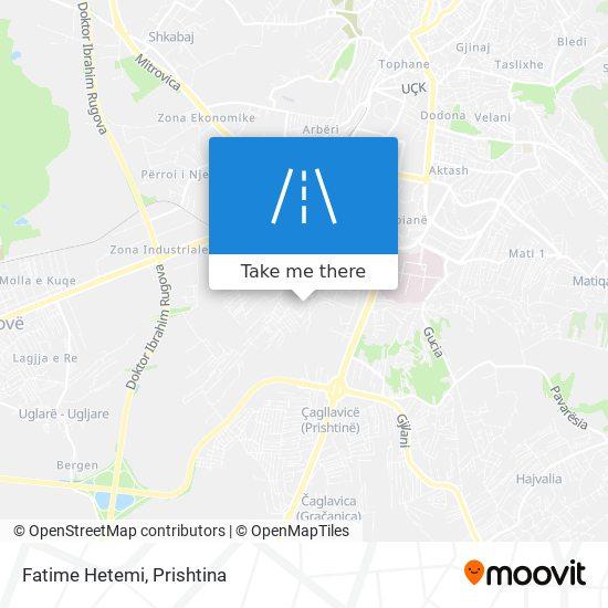 Fatime Hetemi map