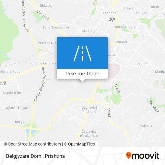 Belgjyzare Domi map