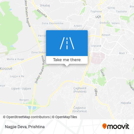 Nagjie Deva map