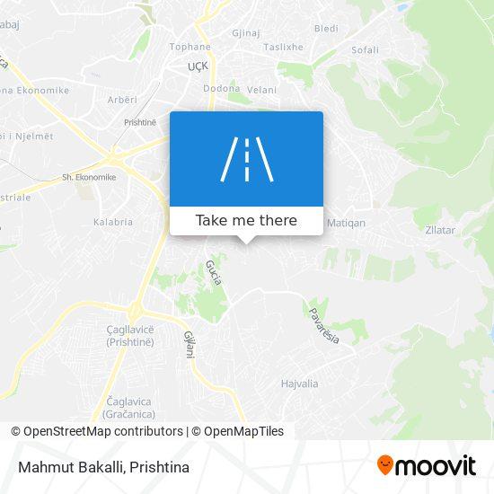 Mahmut Bakalli map