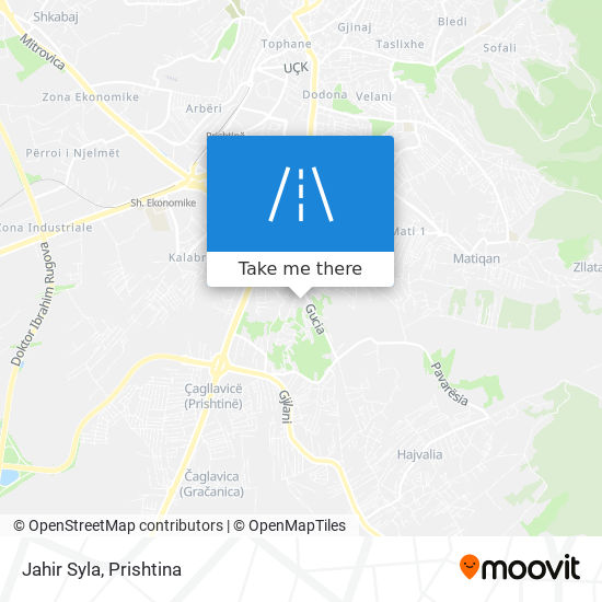 Jahir Syla map