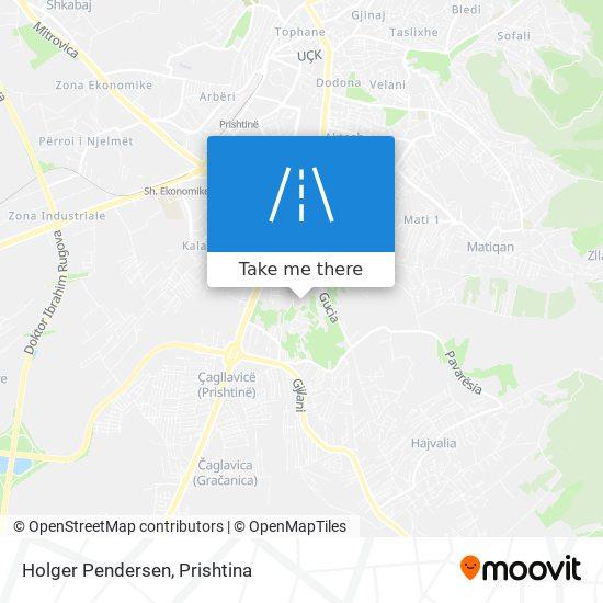 Holger Pendersen map