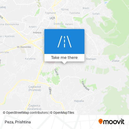 Peza map