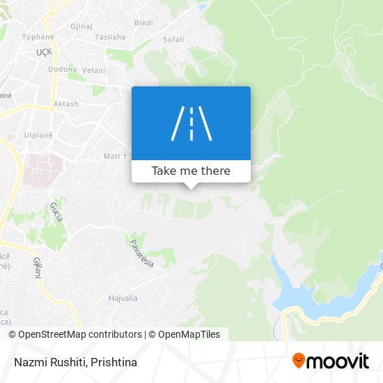 Nazmi Rushiti map