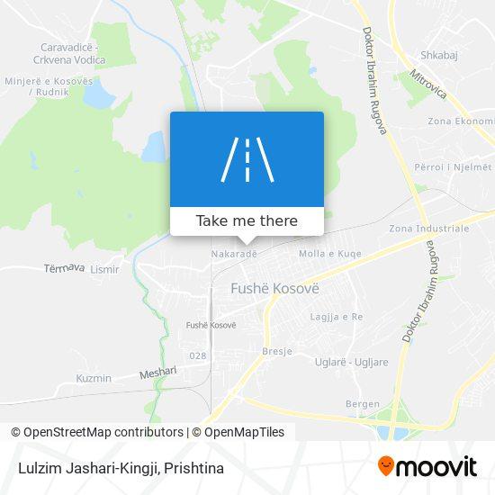 Lulzim Jashari-Kingji map