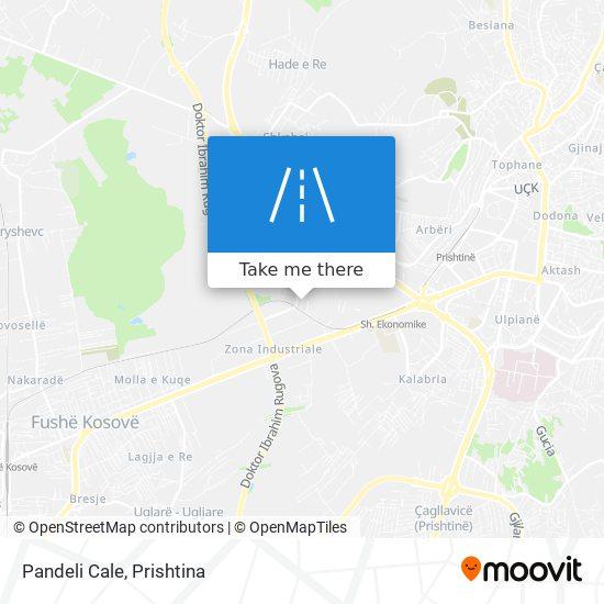 Pandeli Cale map