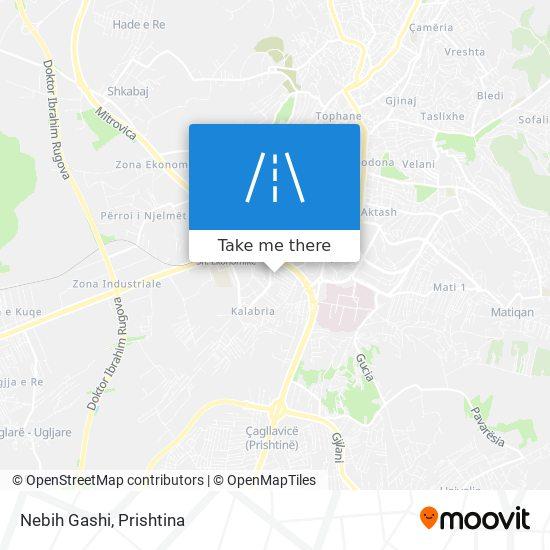 Nebih Gashi map