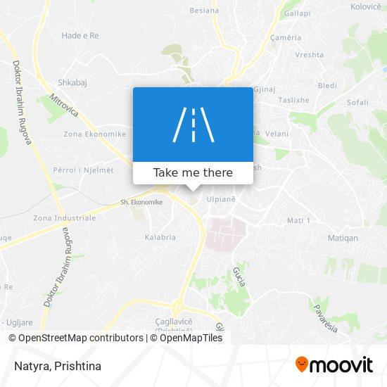 Natyra map