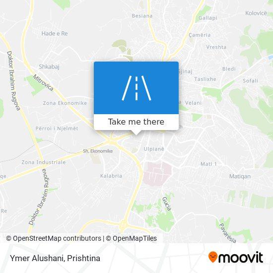 Ymer Alushani map