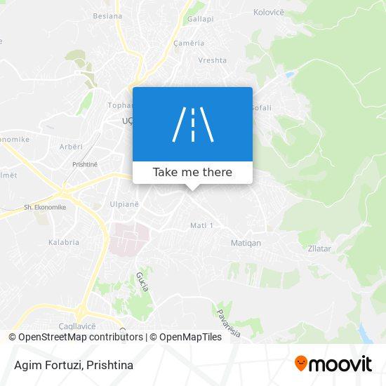 Agim Fortuzi map