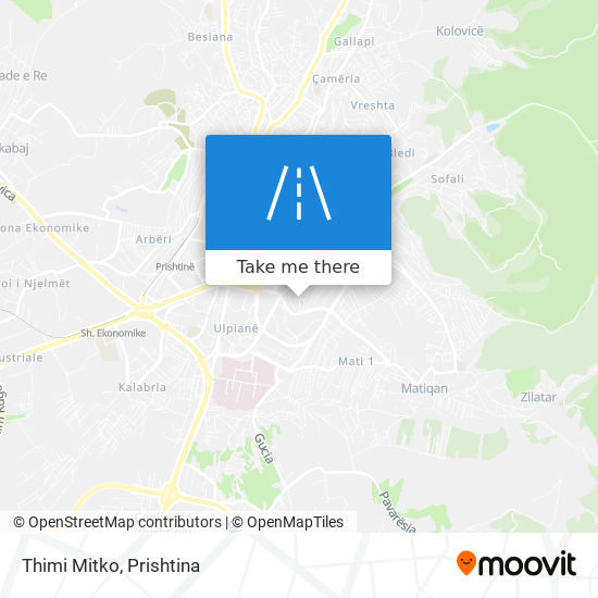 Thimi Mitko map