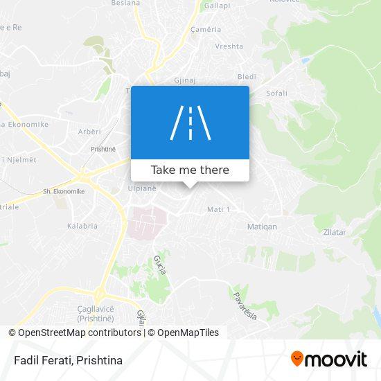 Fadil Ferati map