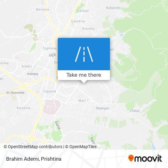 Brahim Ademi map