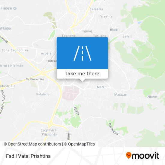 Fadil Vata map