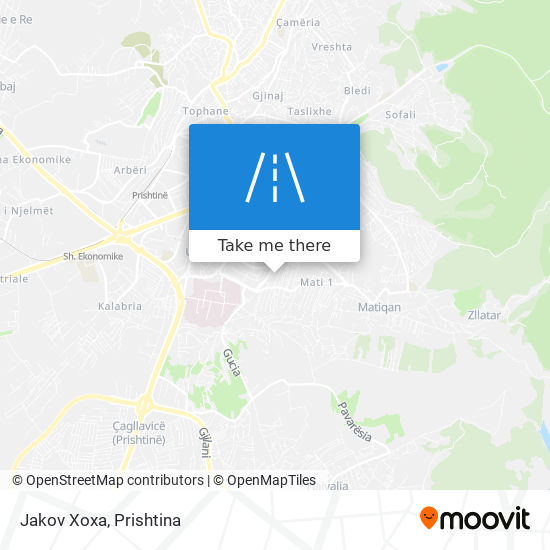 Jakov Xoxa map