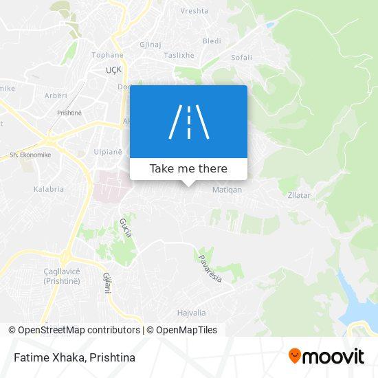 Fatime Xhaka map