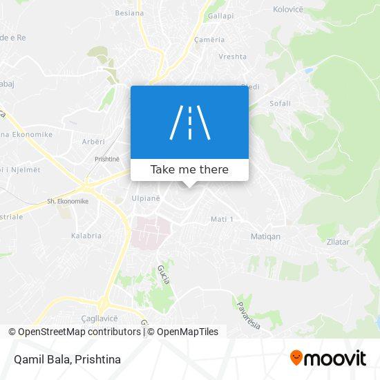 Qamil Bala map