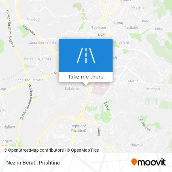 Nezim Berati map