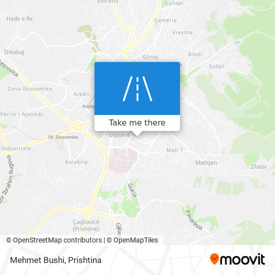 Mehmet Bushi map