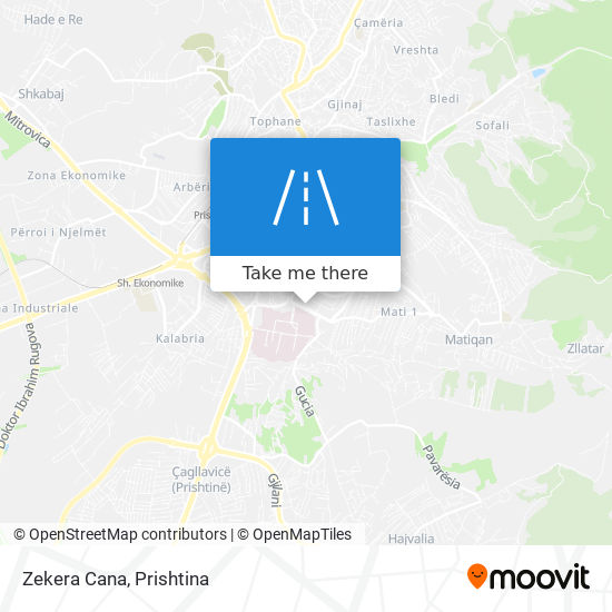 Zekera Cana map