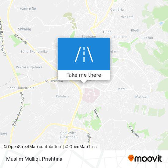 Muslim Mulliqi map