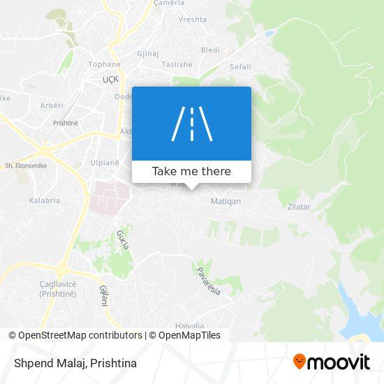 Shpend Malaj map