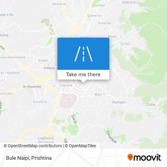 Bule Naipi map