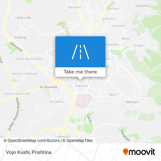 Vojo Kushi map