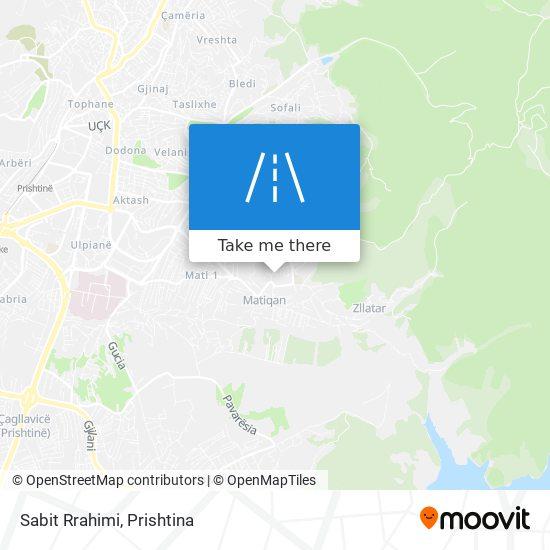 Sabit Rrahimi map