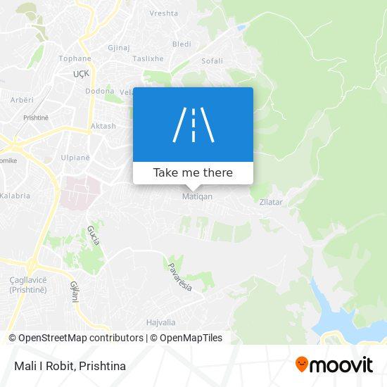 Mali I Robit map