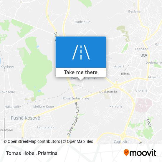 Tomas Hobsi map