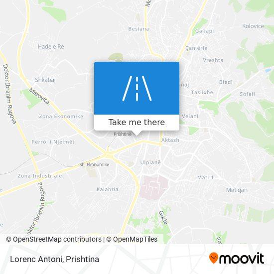 Lorenc Antoni map