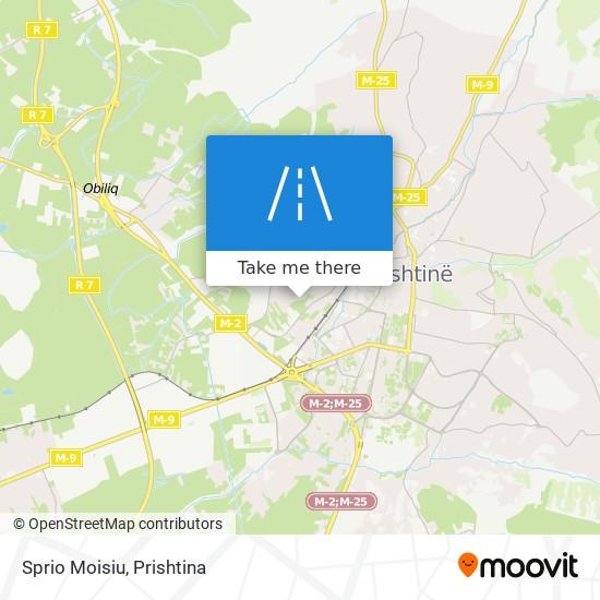 Sprio Moisiu map