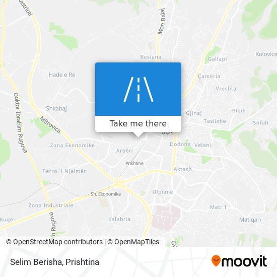 Selim Berisha map
