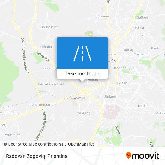 Radovan Zogoviq map