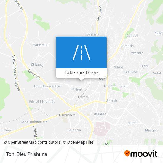 Toni Bler map