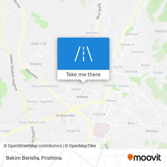 Bekim Berisha map