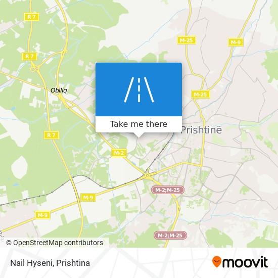 Nail Hyseni map