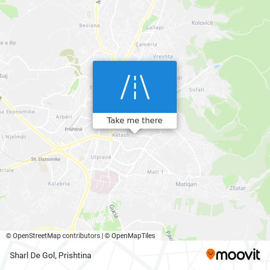Sharl De Gol map