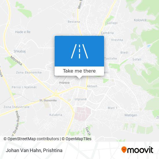 Johan Van Hahn map