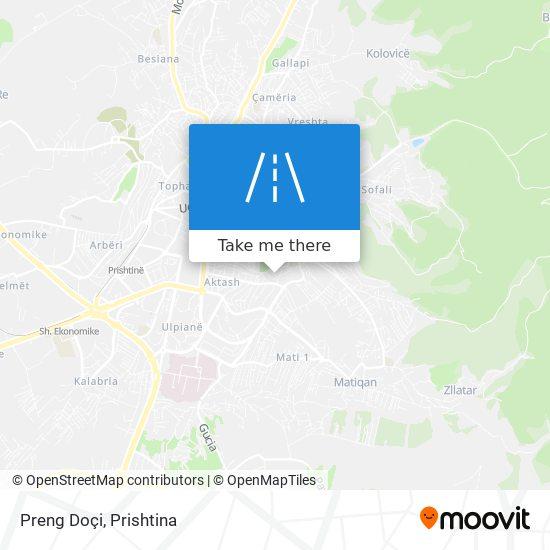 Preng Doçi map