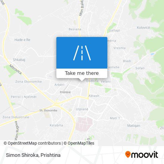 Simon Shiroka map