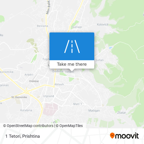 1 Tetori map