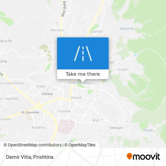 Demir Vitia map
