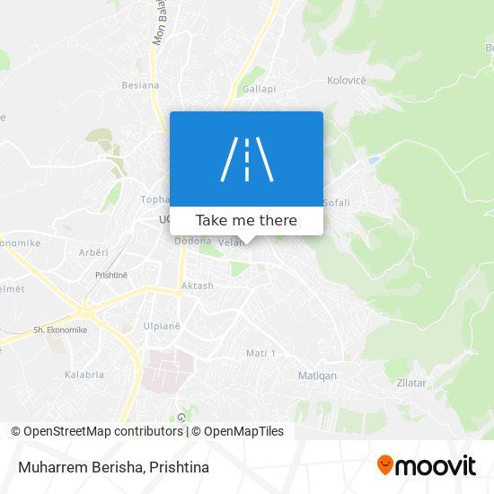 Muharrem Berisha map