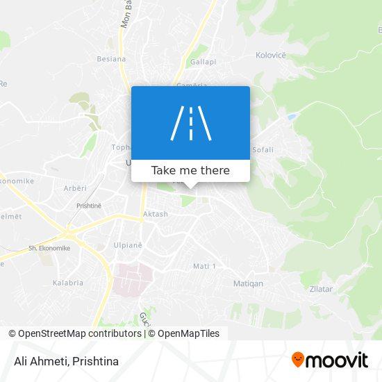 Ali Ahmeti map