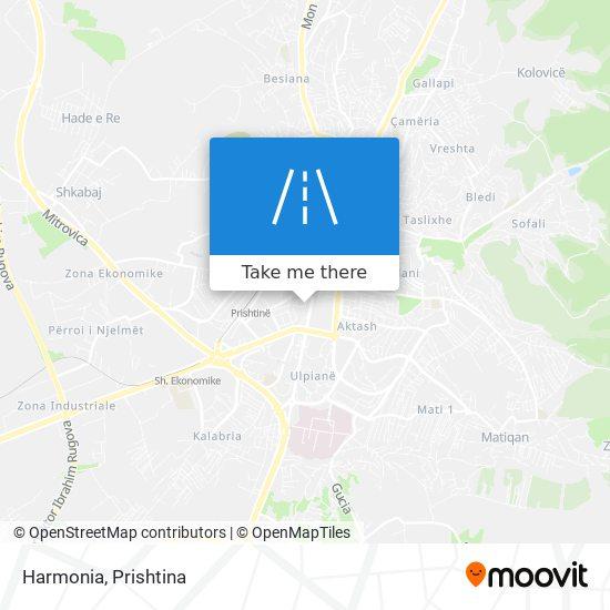Harmonia map